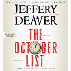 The October List Audiobook, by Jeffery Deaver