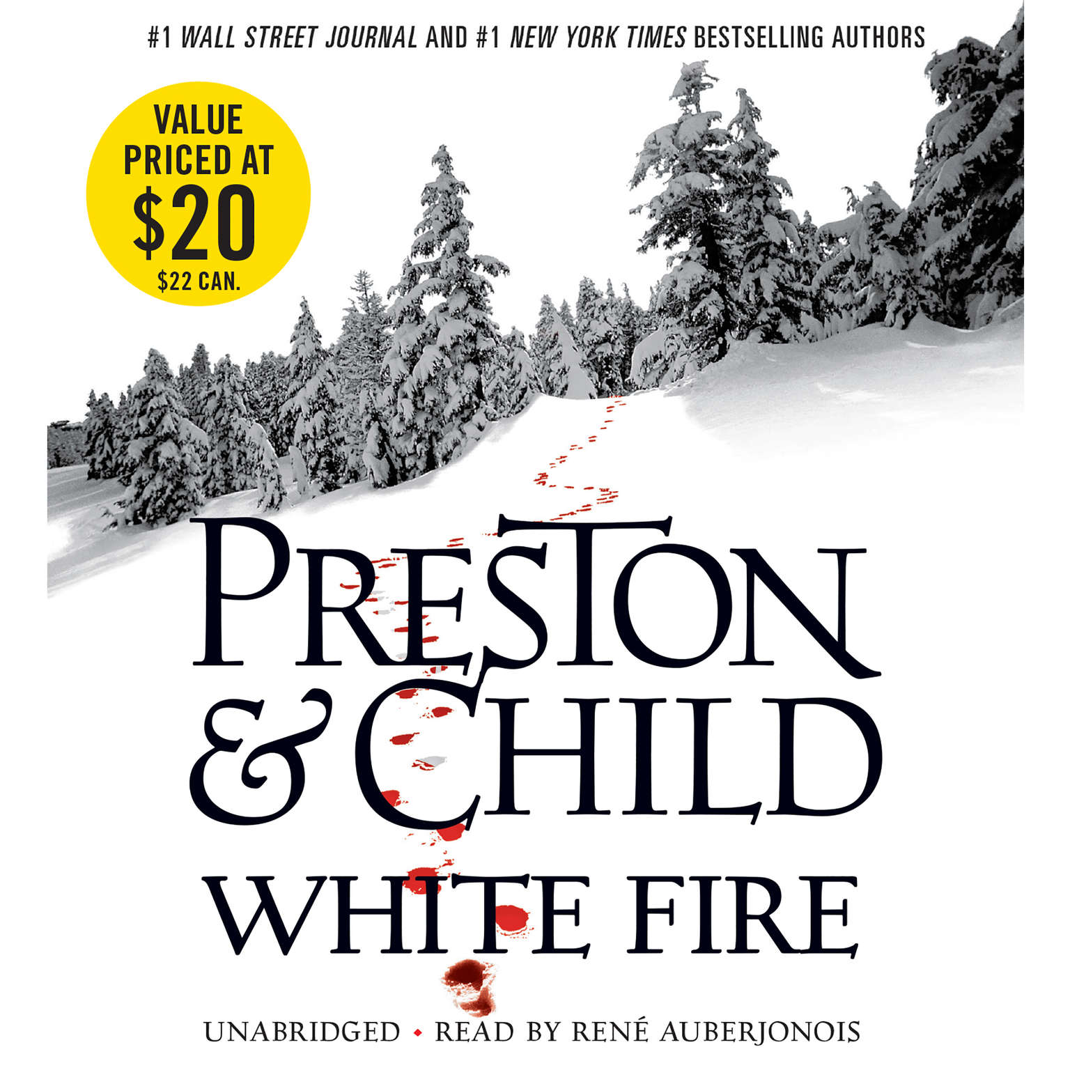 Printable White Fire Audiobook Cover Art