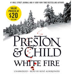 White Fire Audiobook, by Douglas Preston, Lincoln Child