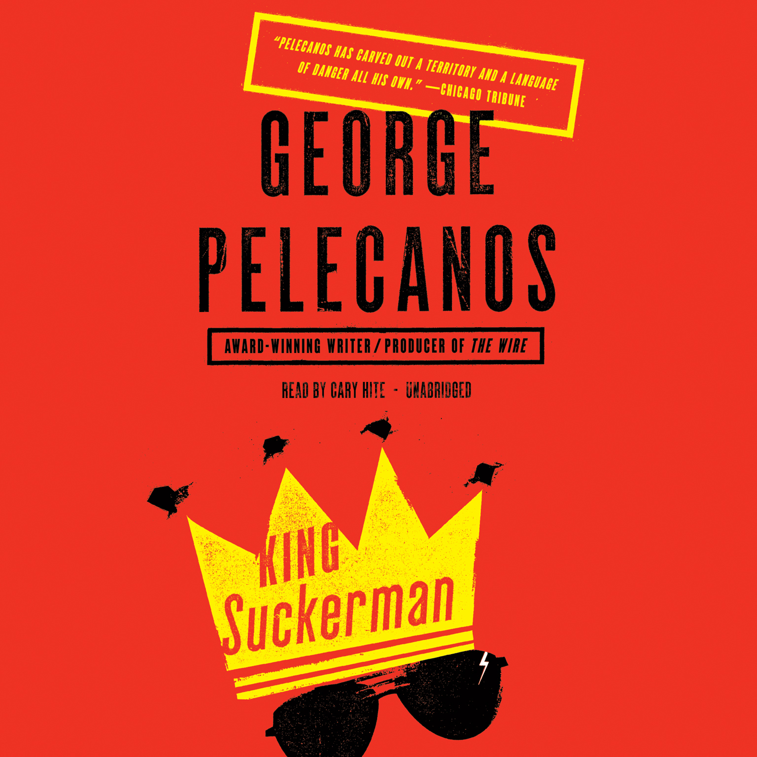 Printable King Suckerman: A Novel Audiobook Cover Art