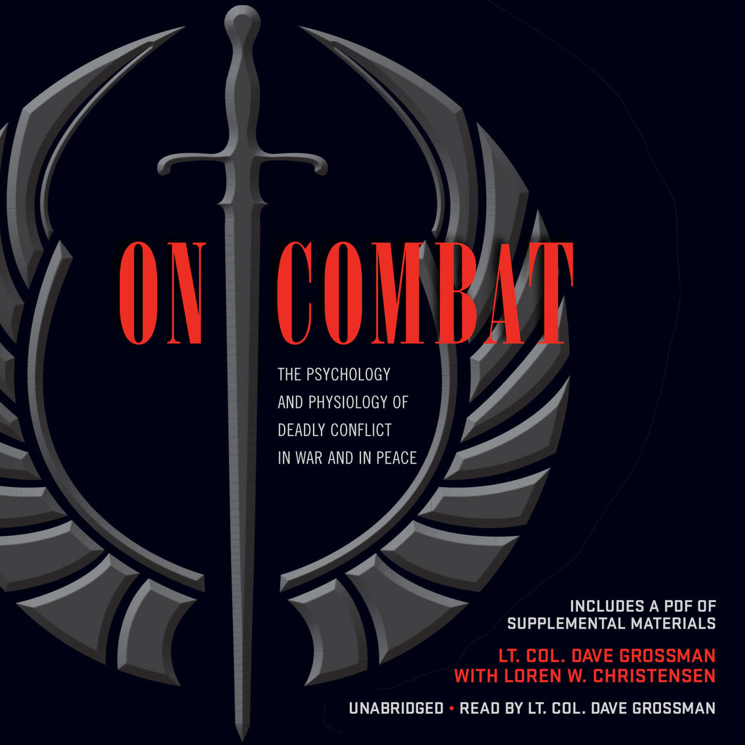 Printable On Combat: The Psychology and Physiology of Deadly Conflict in War and in Peace Audiobook Cover Art