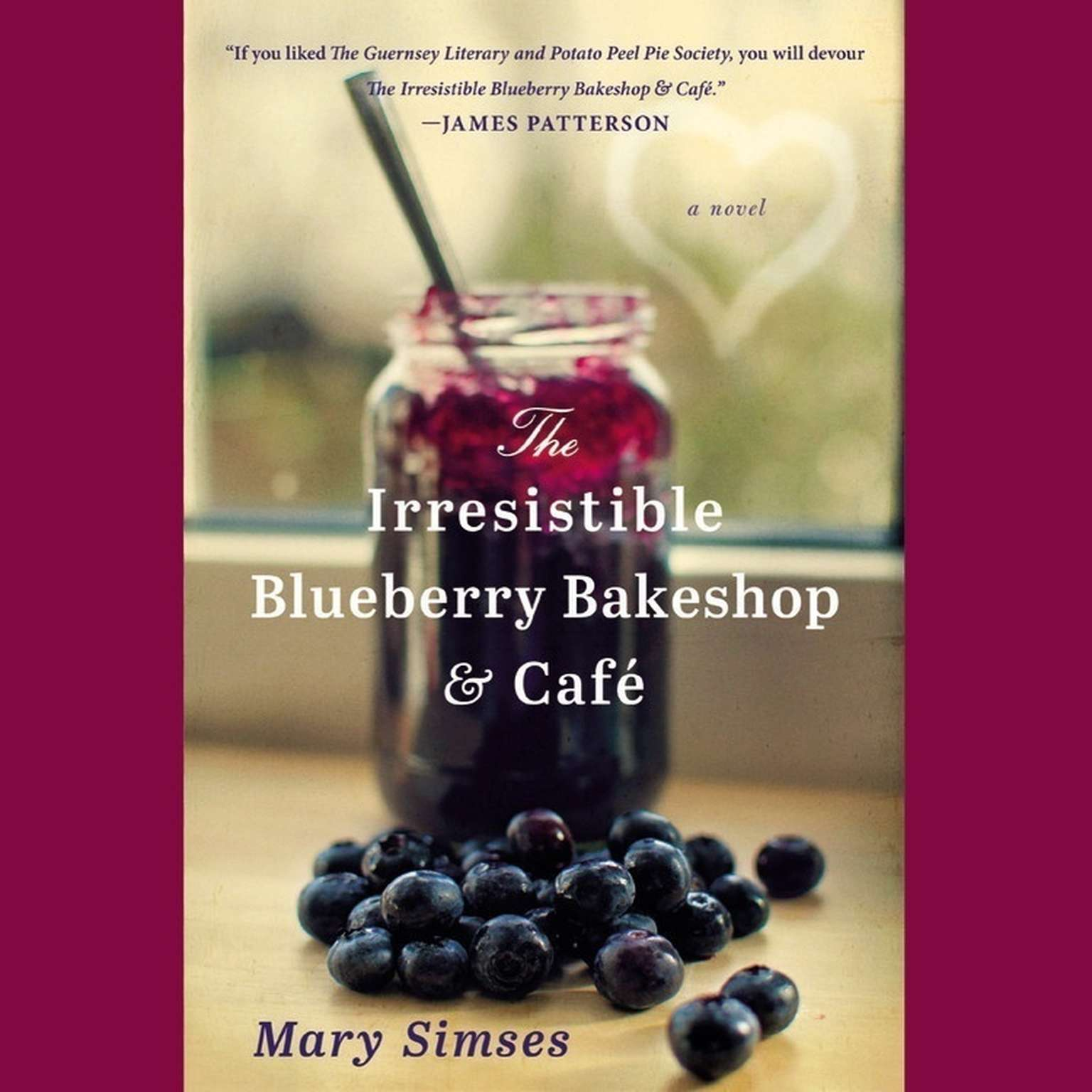 Printable The Irresistible Blueberry Bakeshop & Cafe Audiobook Cover Art