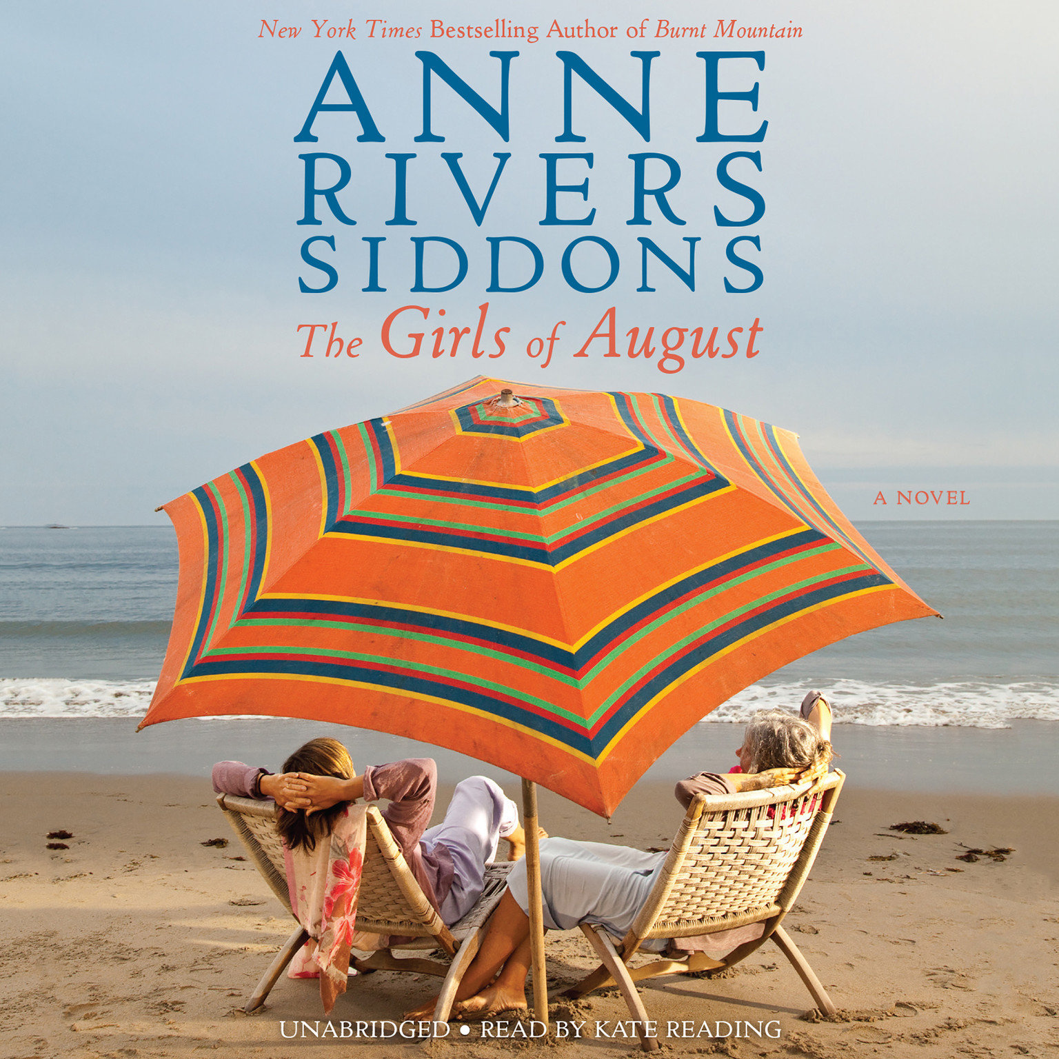 Printable The Girls of August Audiobook Cover Art