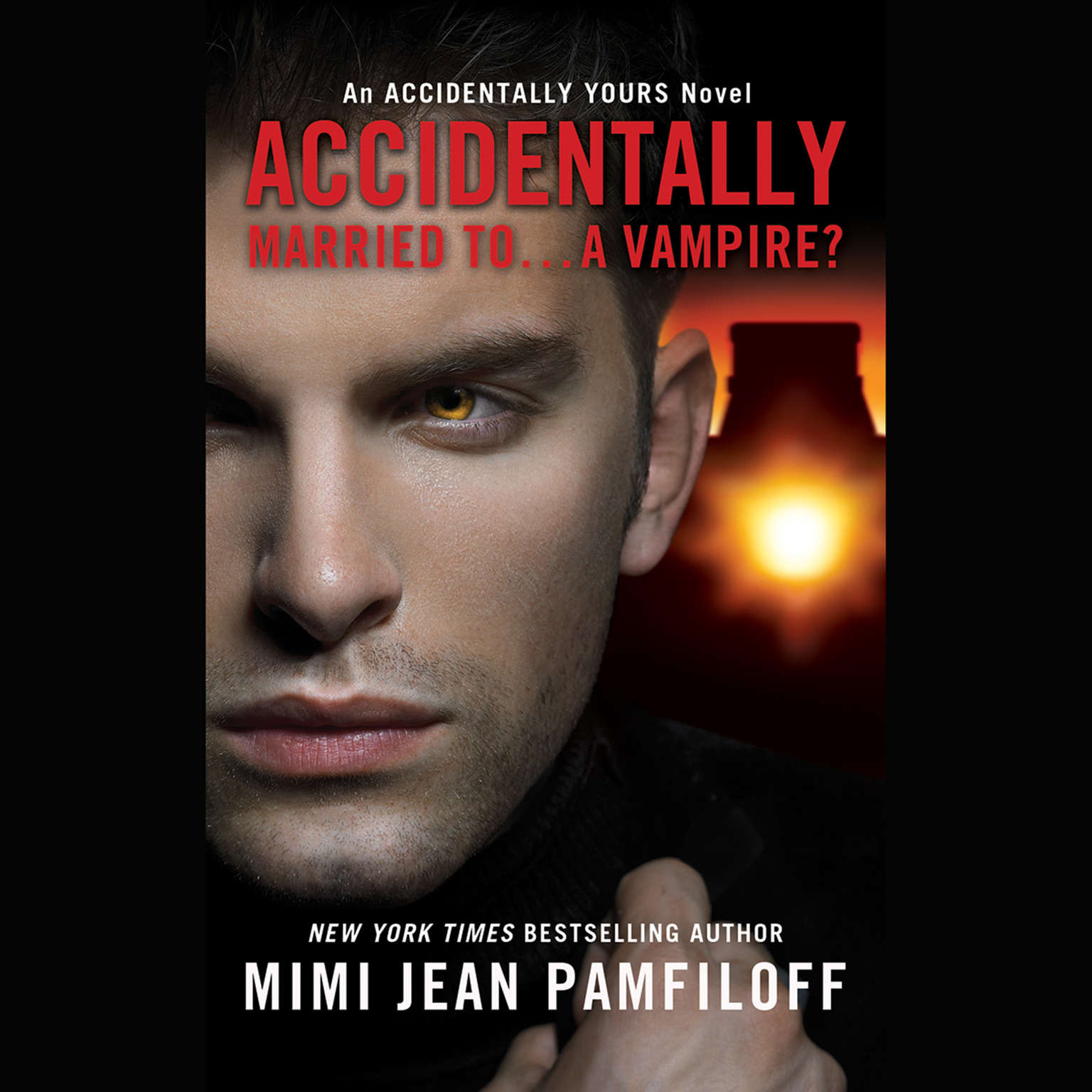 Printable Accidentally Married to...A Vampire? Audiobook Cover Art