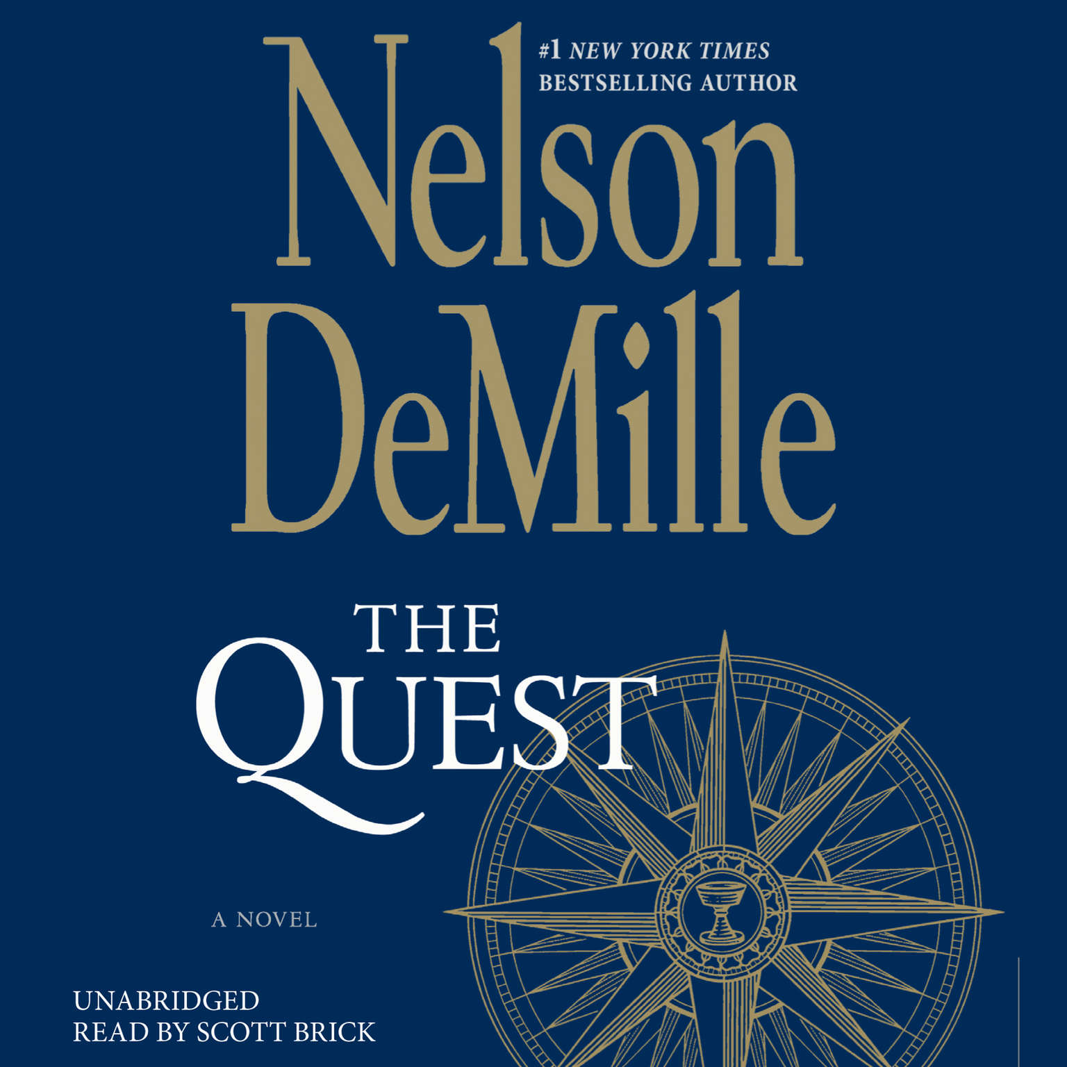 Printable The Quest: A Novel Audiobook Cover Art