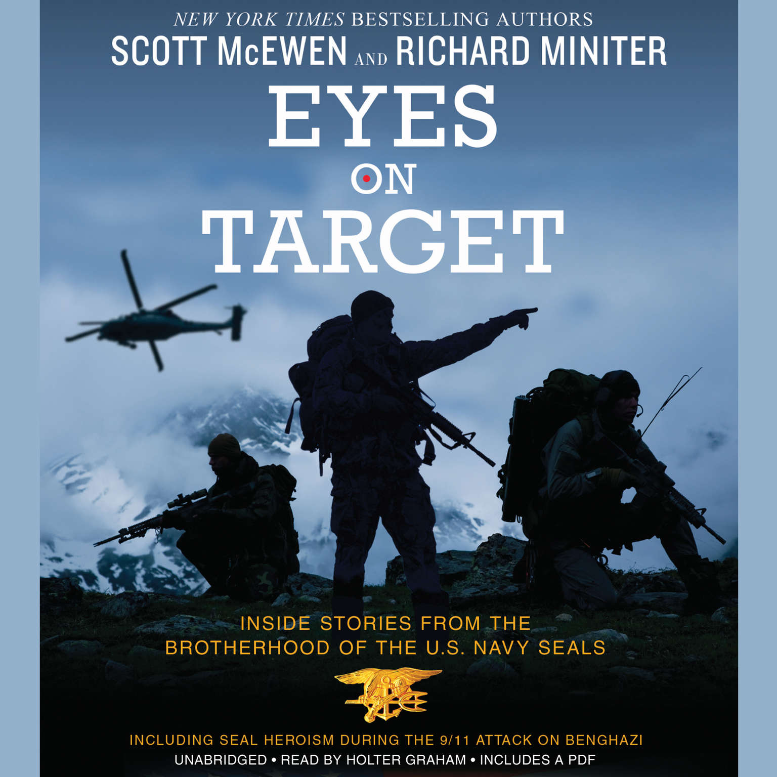 Printable Eyes on Target: Inside Stories from the Brotherhood of the US Navy SEALs Audiobook Cover Art