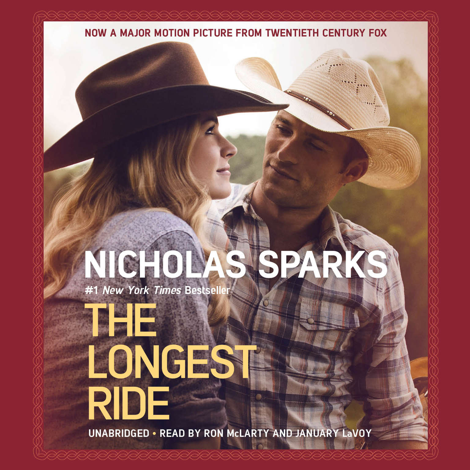 Printable The Longest Ride Audiobook Cover Art