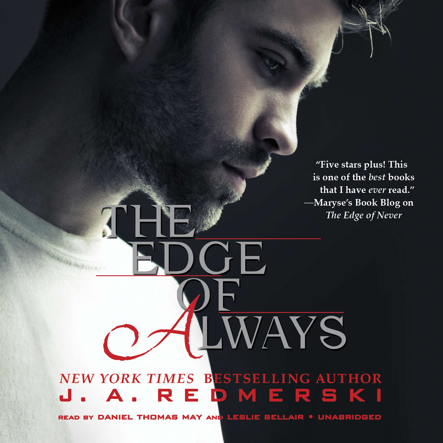 Printable The Edge of Always Audiobook Cover Art