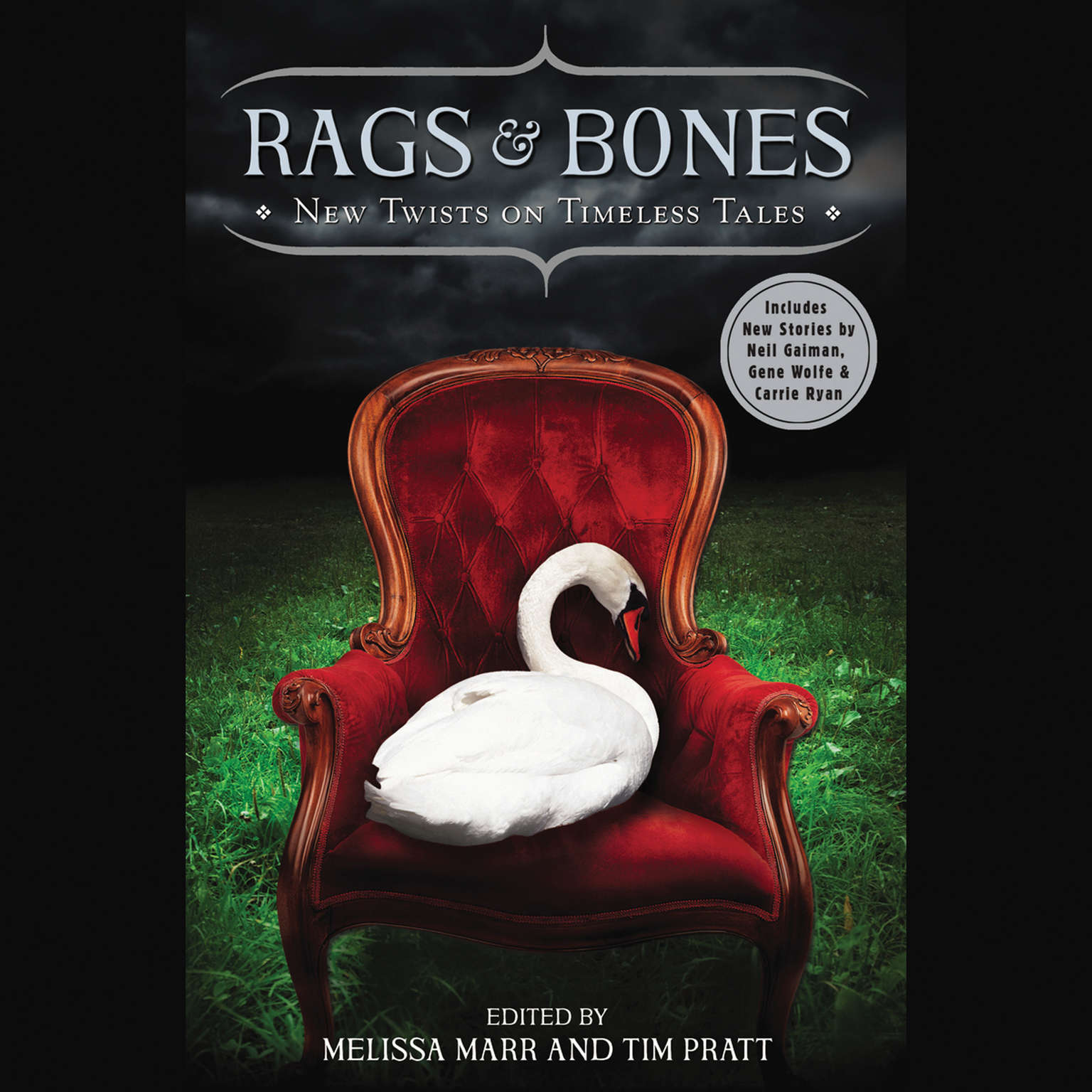 Printable Rags & Bones: New Twists on Timeless Tales Audiobook Cover Art