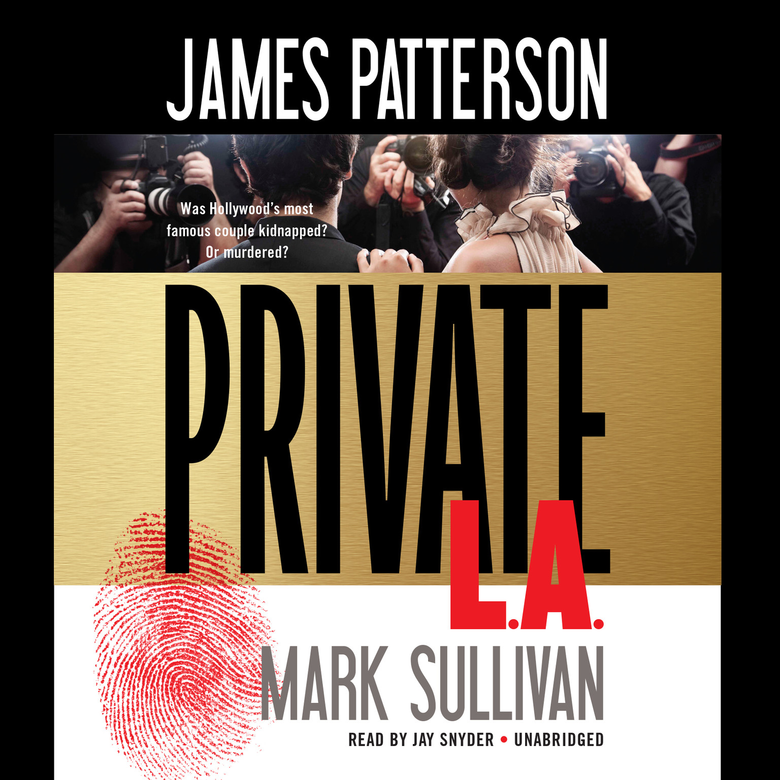 Printable Private L.A. Audiobook Cover Art