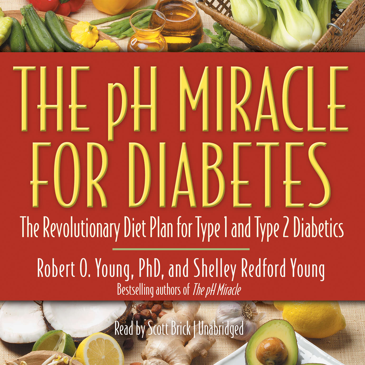 Printable The pH Miracle for Diabetes: The Revolutionary Diet Plan for Type 1 and Type 2 Diabetics Audiobook Cover Art