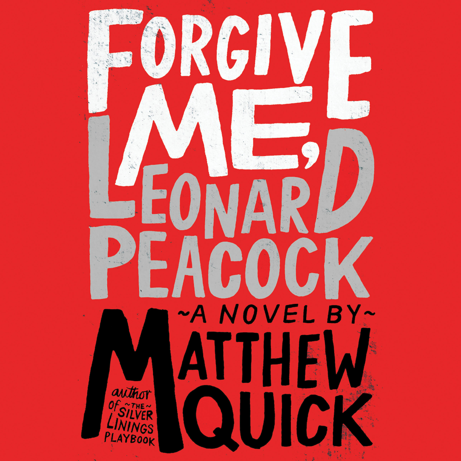 Printable Forgive Me, Leonard Peacock Audiobook Cover Art
