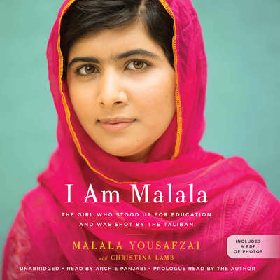 I Am Malala: The Girl Who Stood Up for Education and Was Shot by the Taliban Audiobook, by