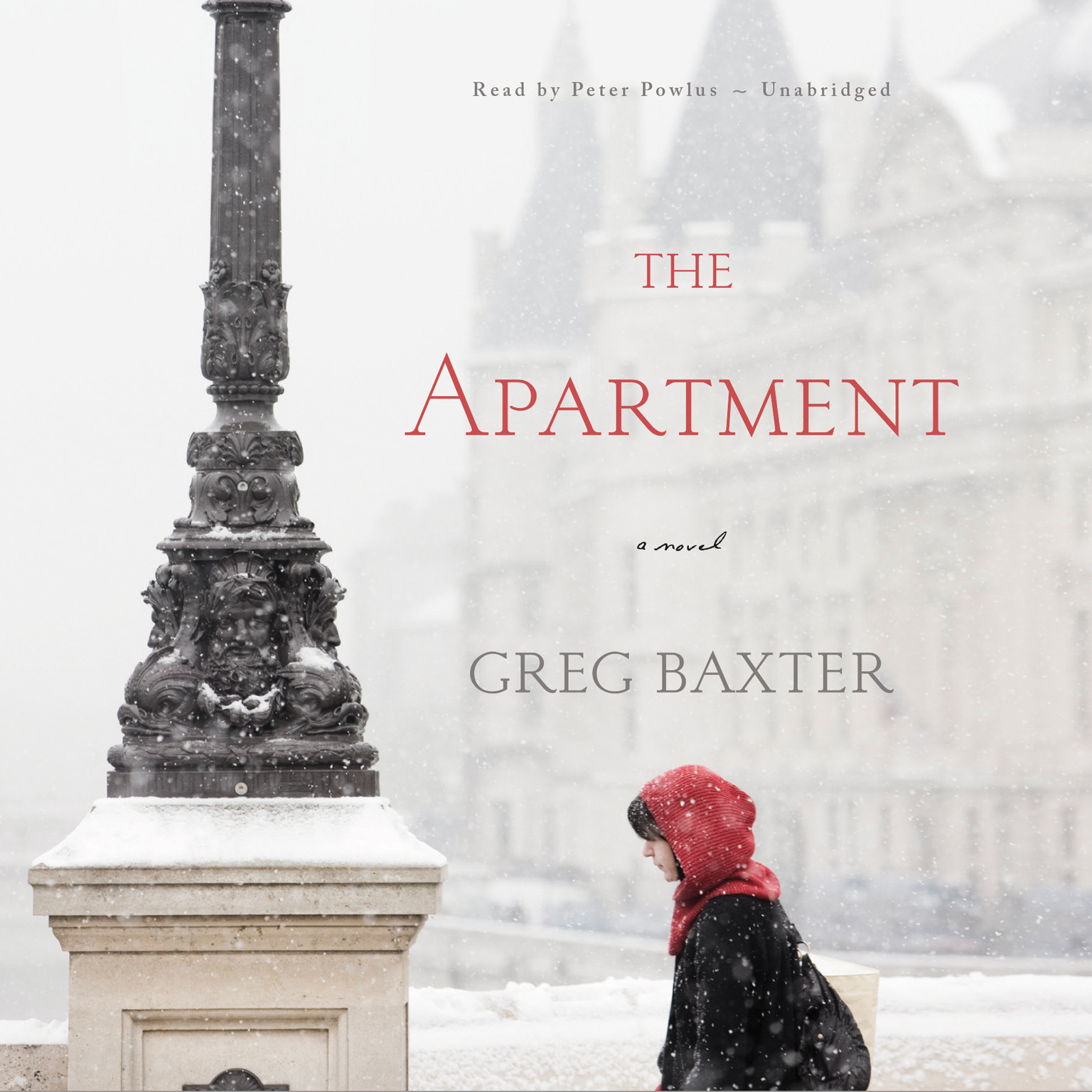 Printable The Apartment: A Novel Audiobook Cover Art