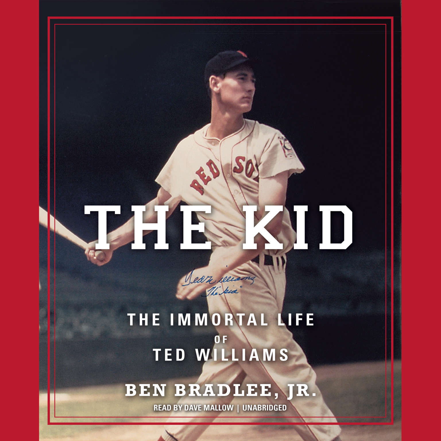 Printable The Kid: The Immortal Life of Ted Williams Audiobook Cover Art