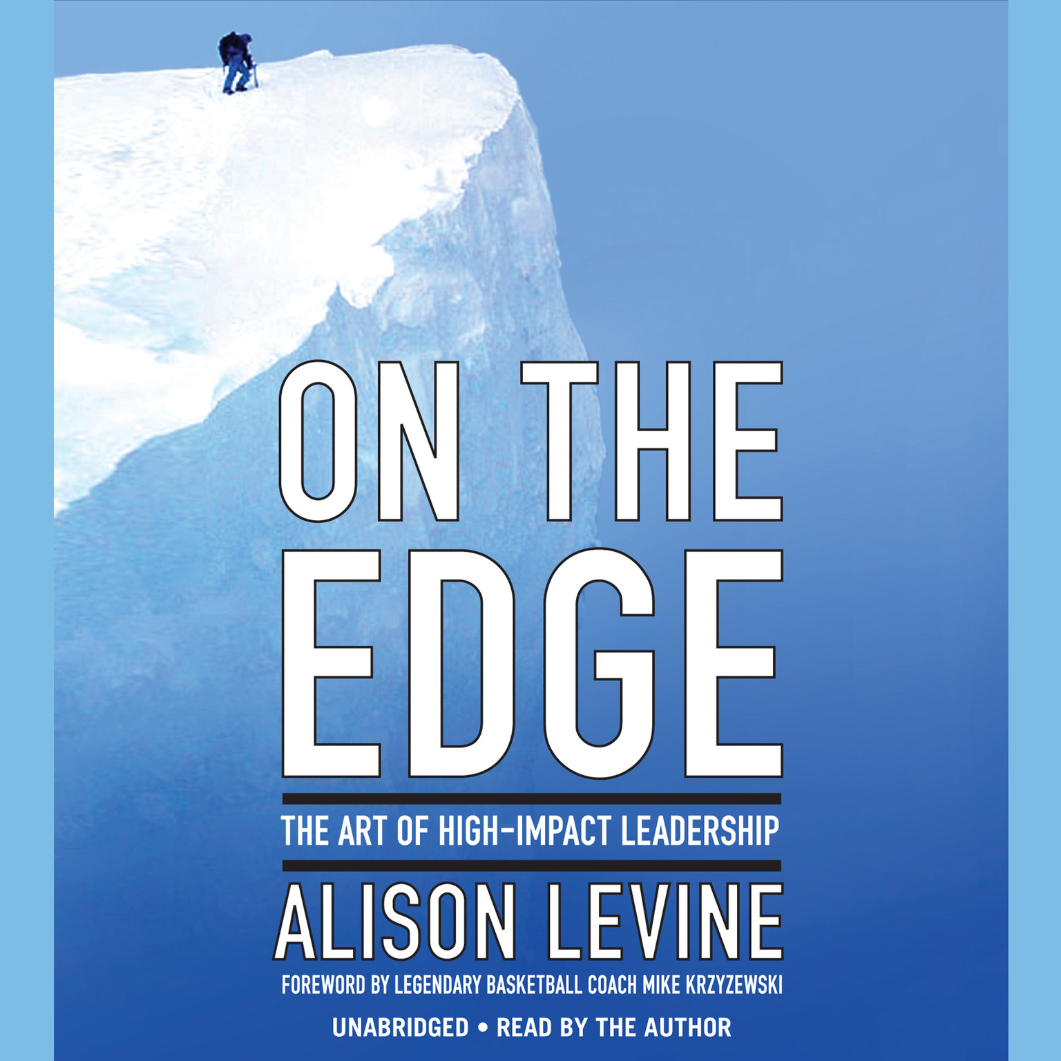 Printable On the Edge: Leadership Lessons from Mount Everest and Other Extreme Environments Audiobook Cover Art