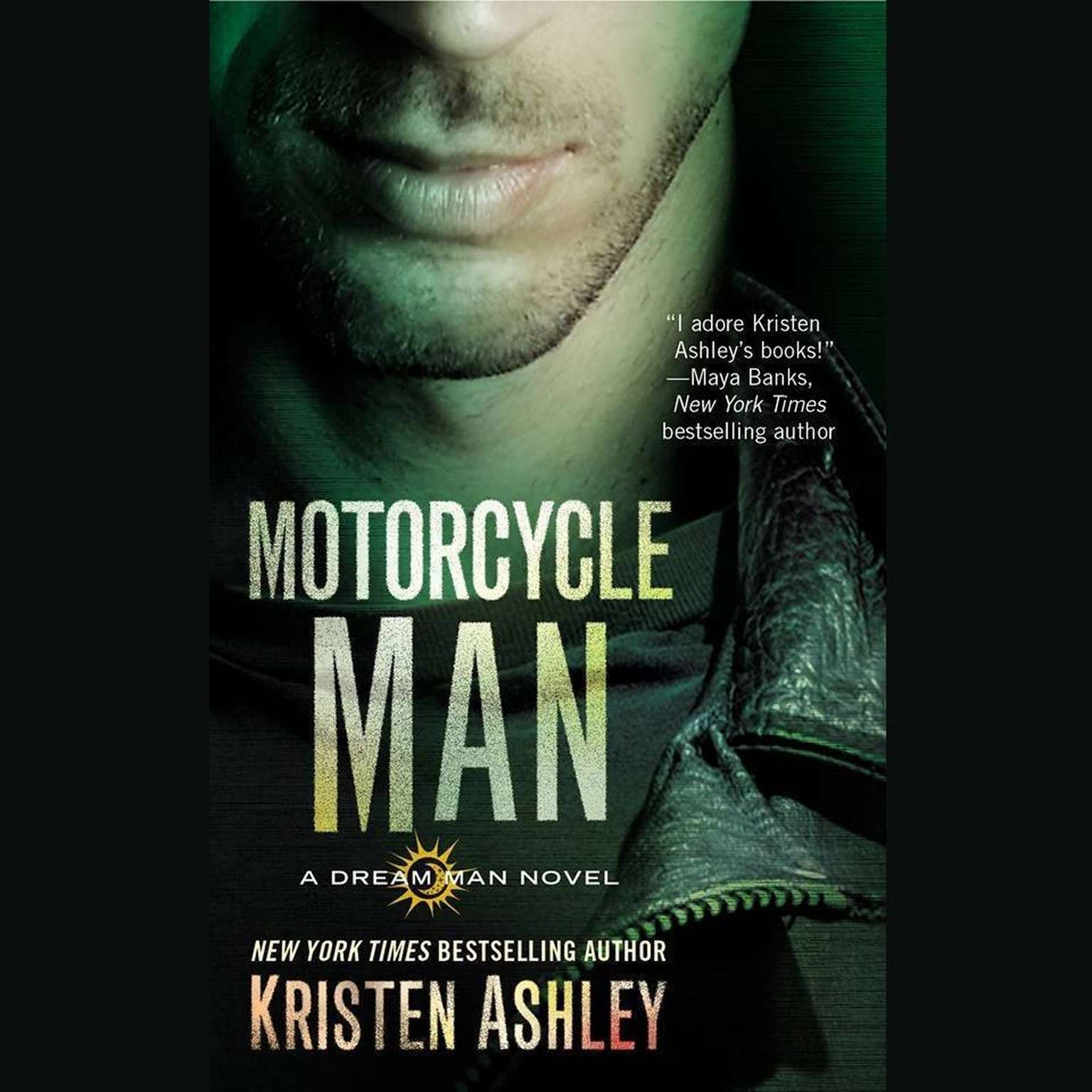 Printable Motorcycle Man Audiobook Cover Art