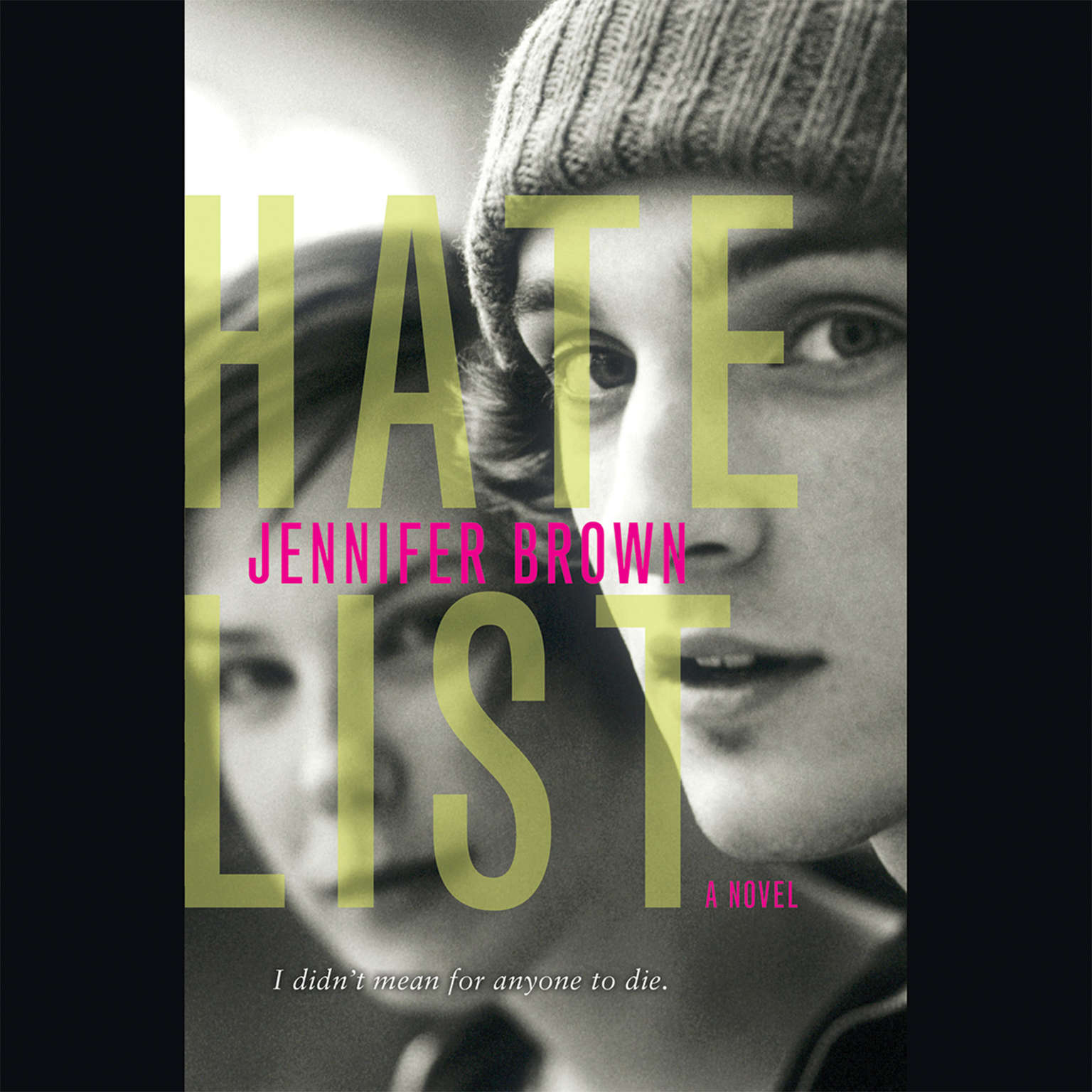 Printable Hate List Audiobook Cover Art