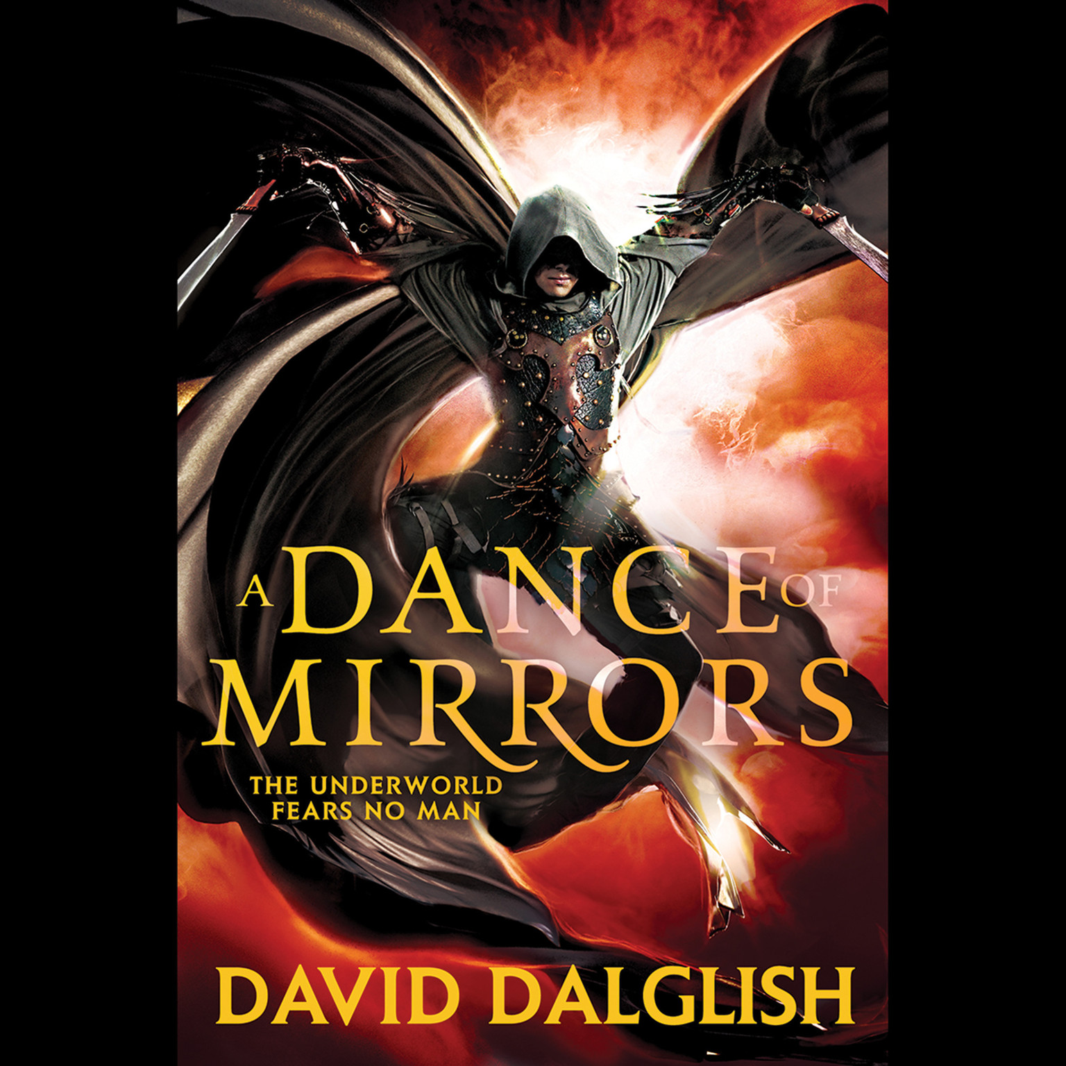 Printable A Dance of Mirrors Audiobook Cover Art