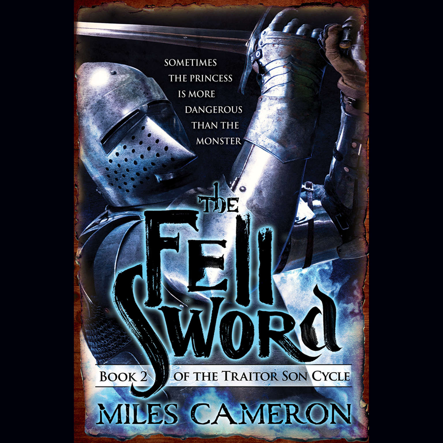 Printable The Fell Sword Audiobook Cover Art