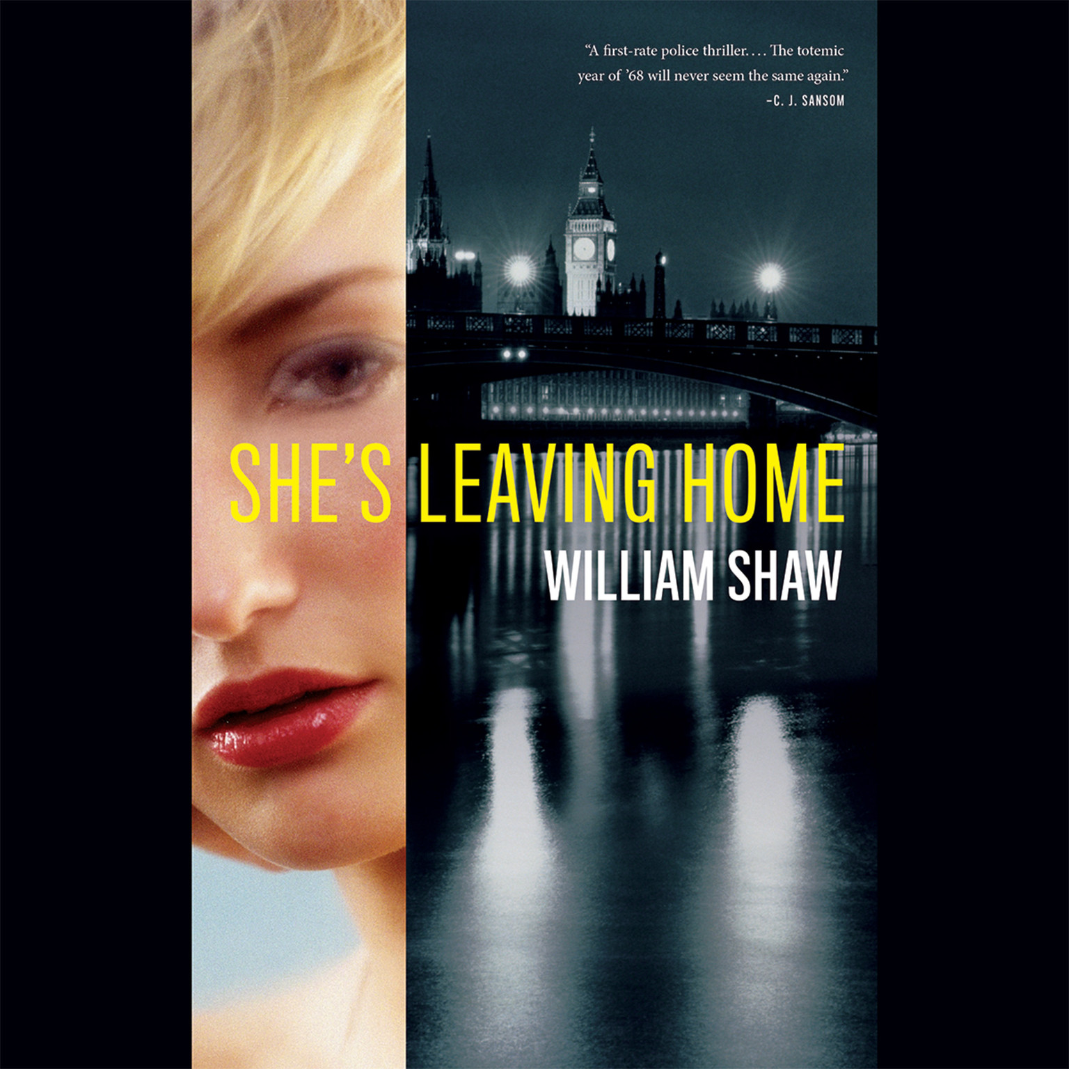 Printable She's Leaving Home Audiobook Cover Art