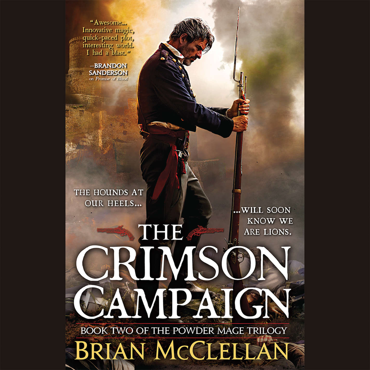 Printable The Crimson Campaign Audiobook Cover Art