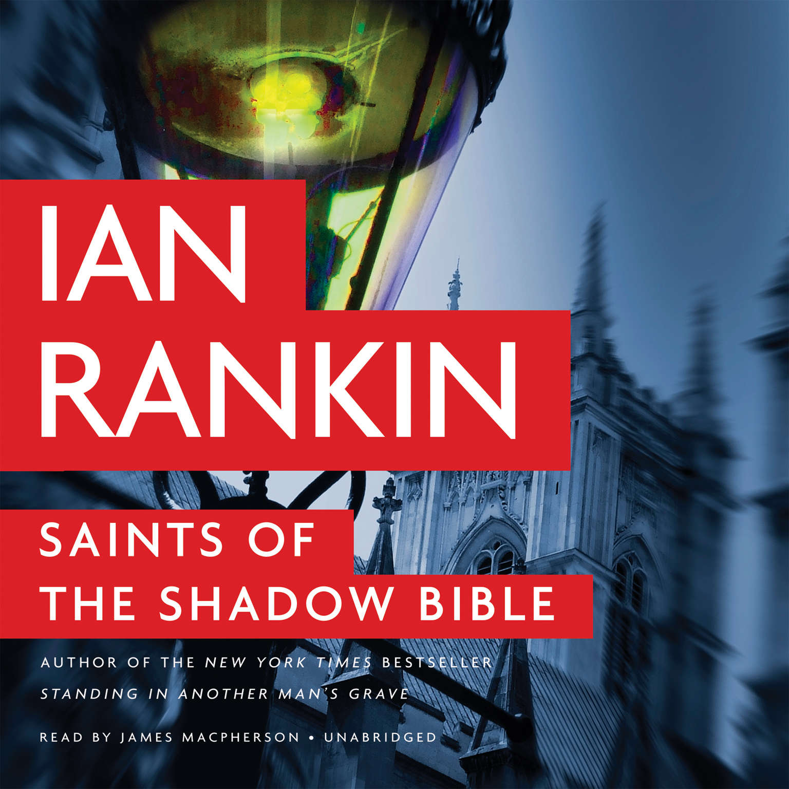 Printable Saints of the Shadow Bible Audiobook Cover Art