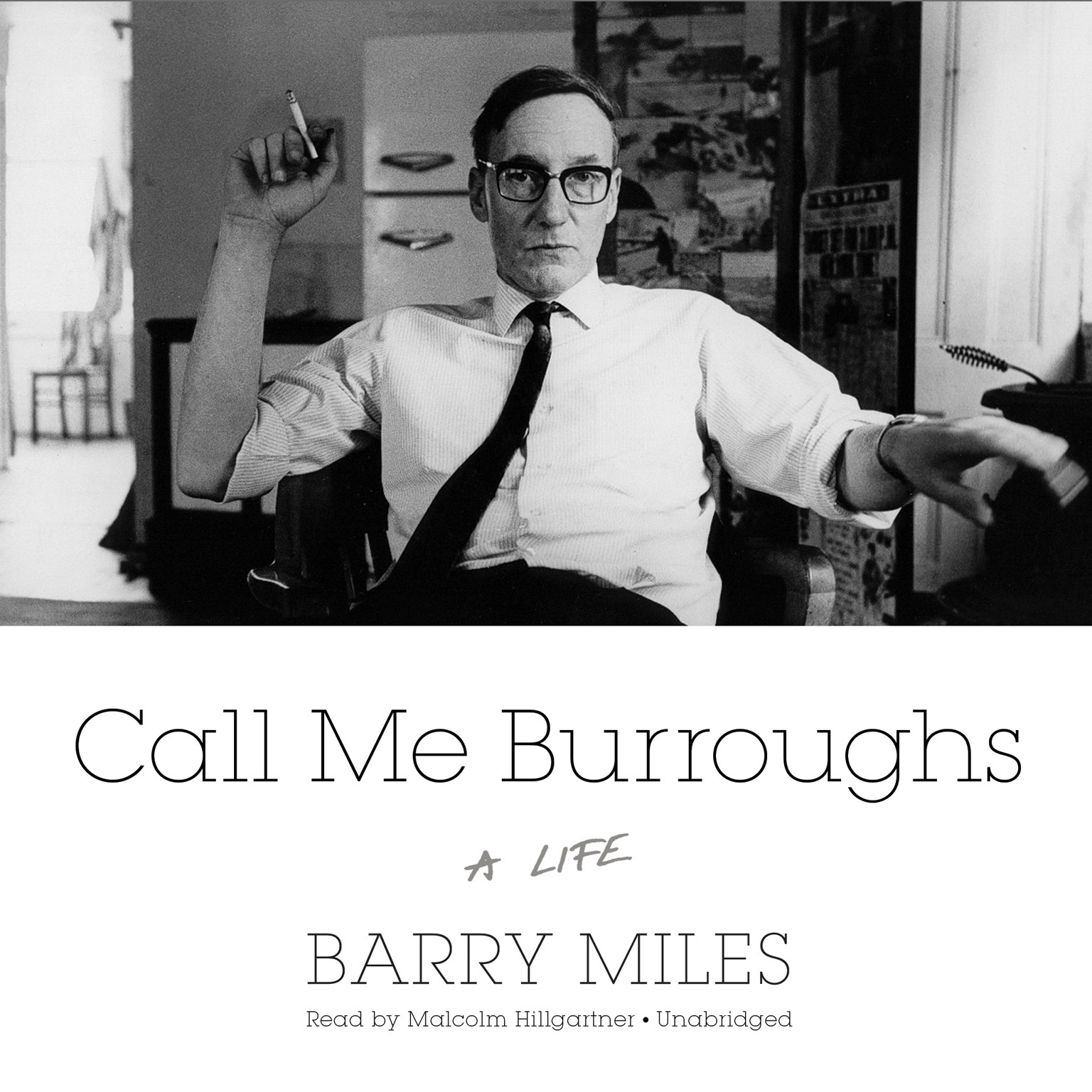 Printable Call Me Burroughs: A Life Audiobook Cover Art