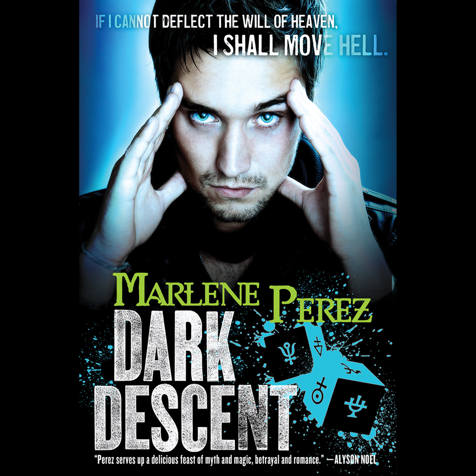 Printable Dark Descent Audiobook Cover Art