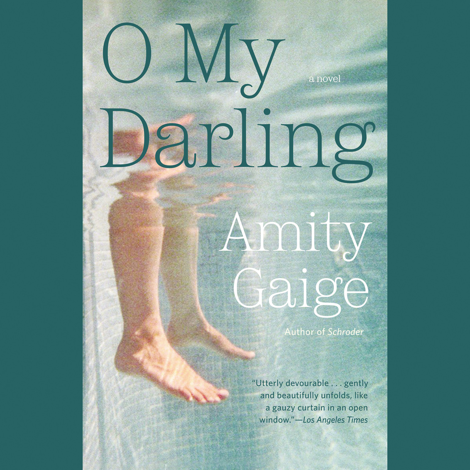 Printable O My Darling: A Novel Audiobook Cover Art