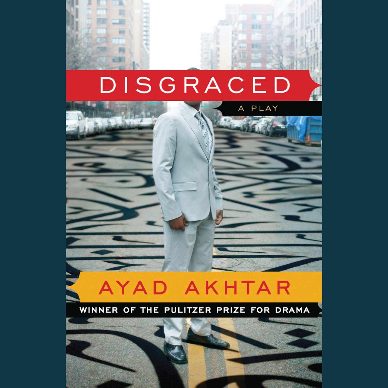 Printable Disgraced: A Play Audiobook Cover Art