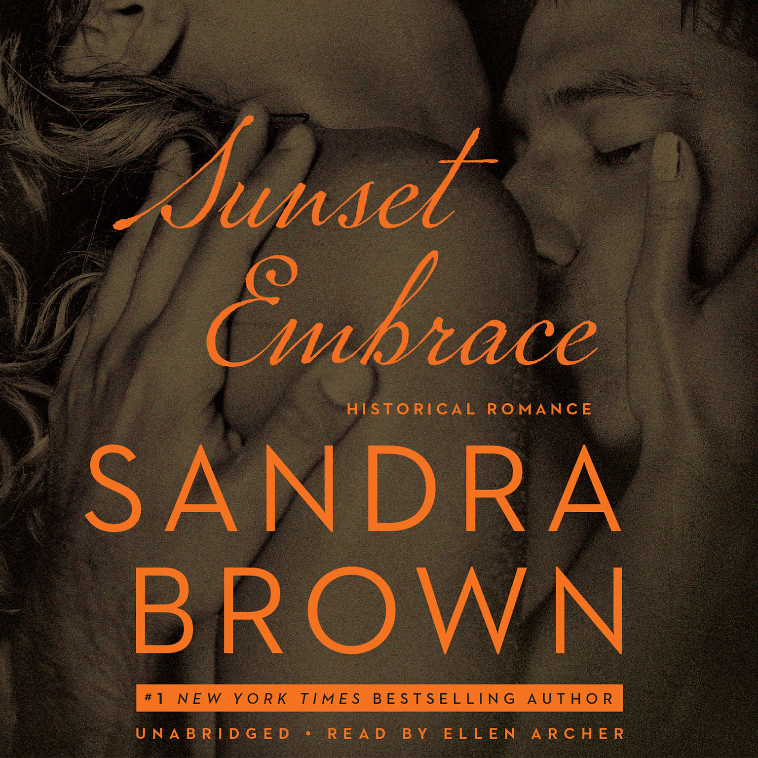 Printable Sunset Embrace Audiobook Cover Art