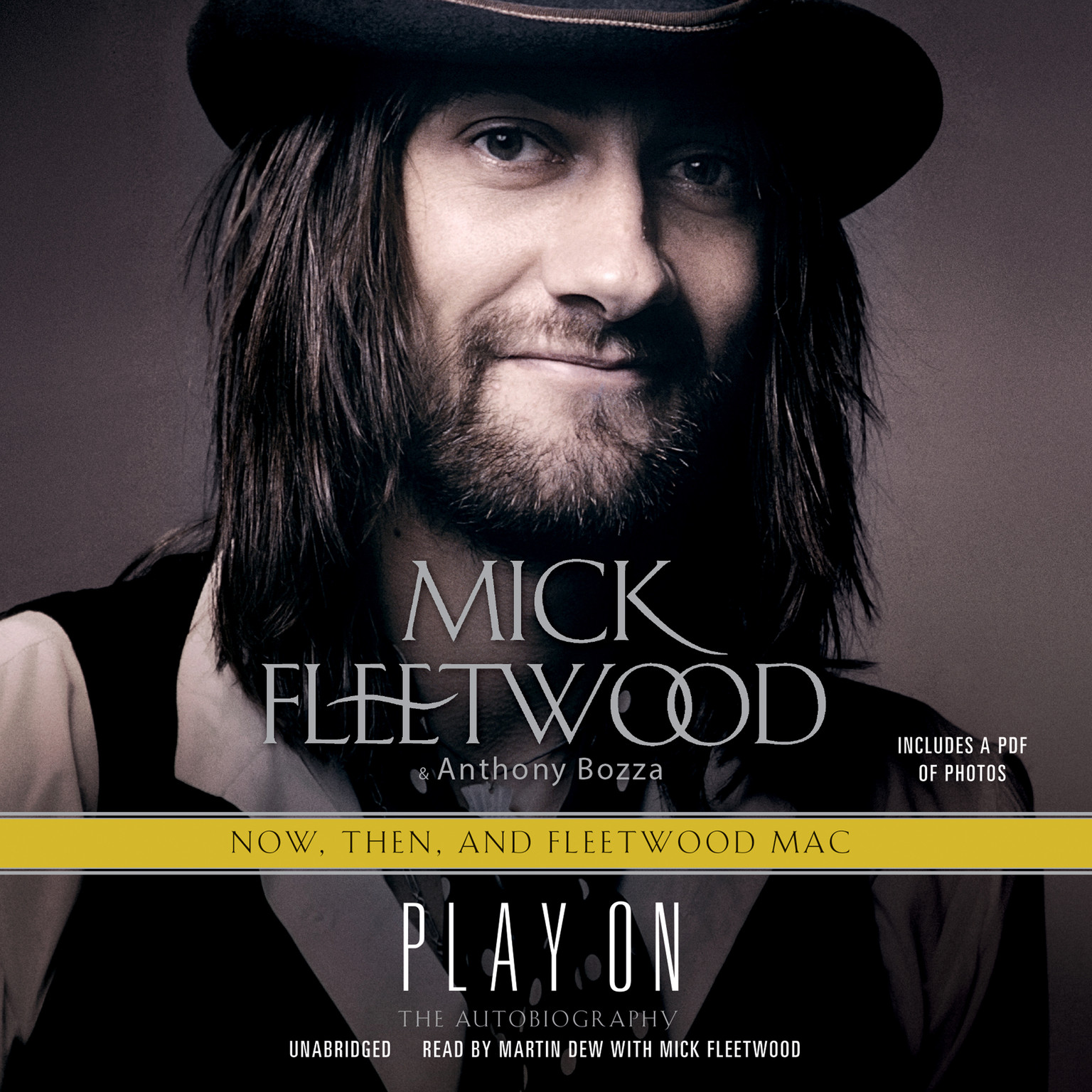 Printable Play On: Now, Then, and Fleetwood Mac: The Autobiography Audiobook Cover Art