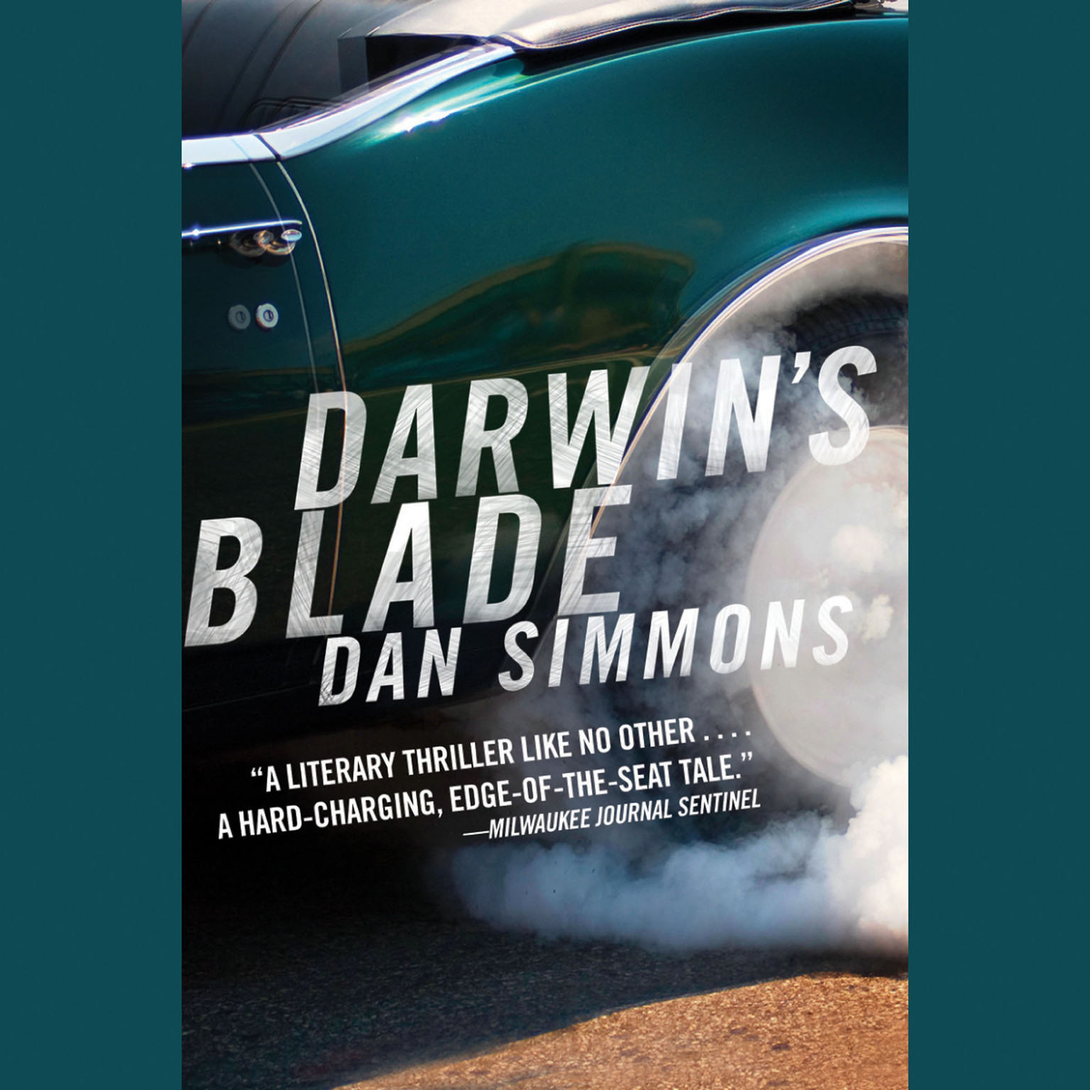 Printable Darwin's Blade Audiobook Cover Art