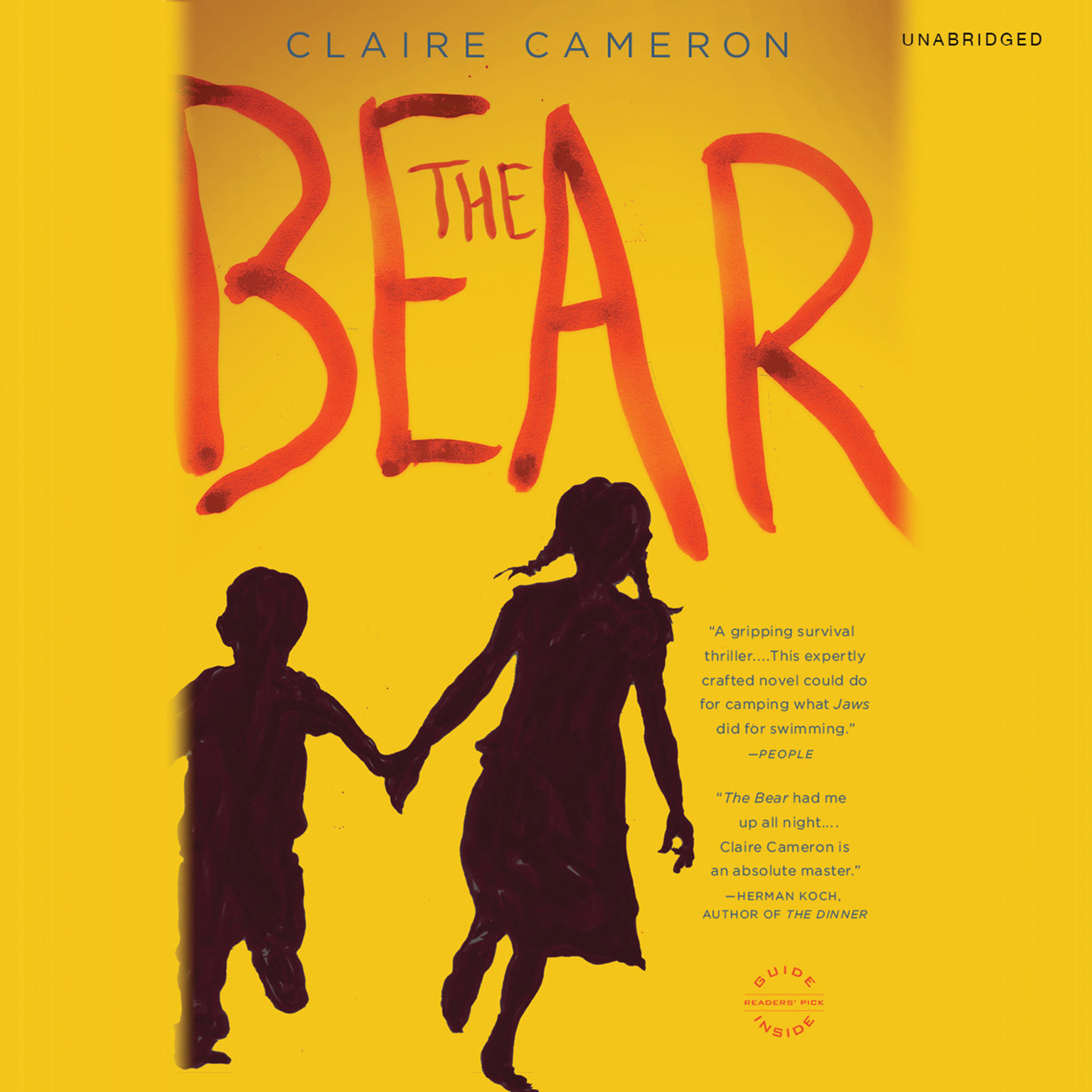 Printable The Bear: A Novel Audiobook Cover Art