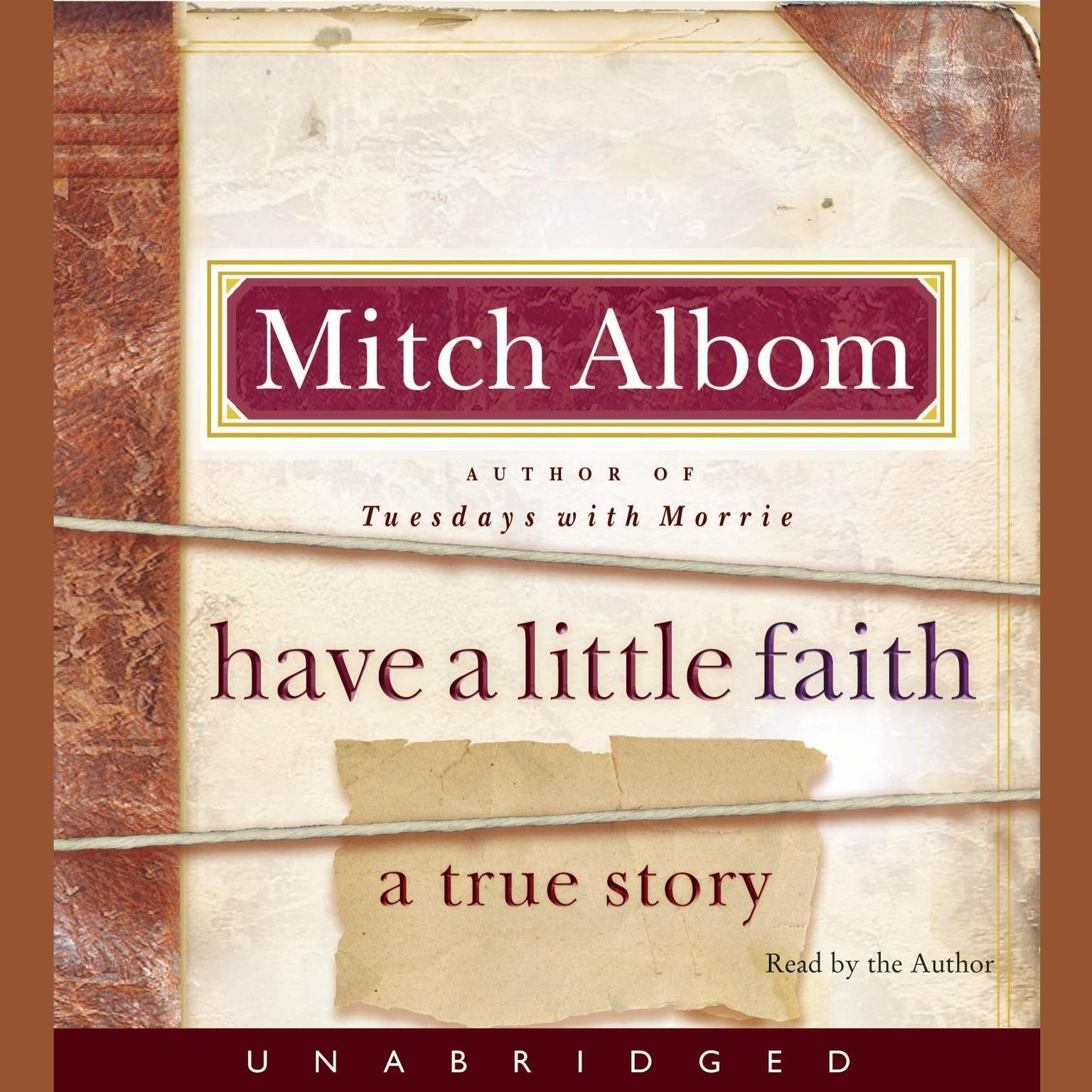Printable Have a Little Faith: A True Story Audiobook Cover Art