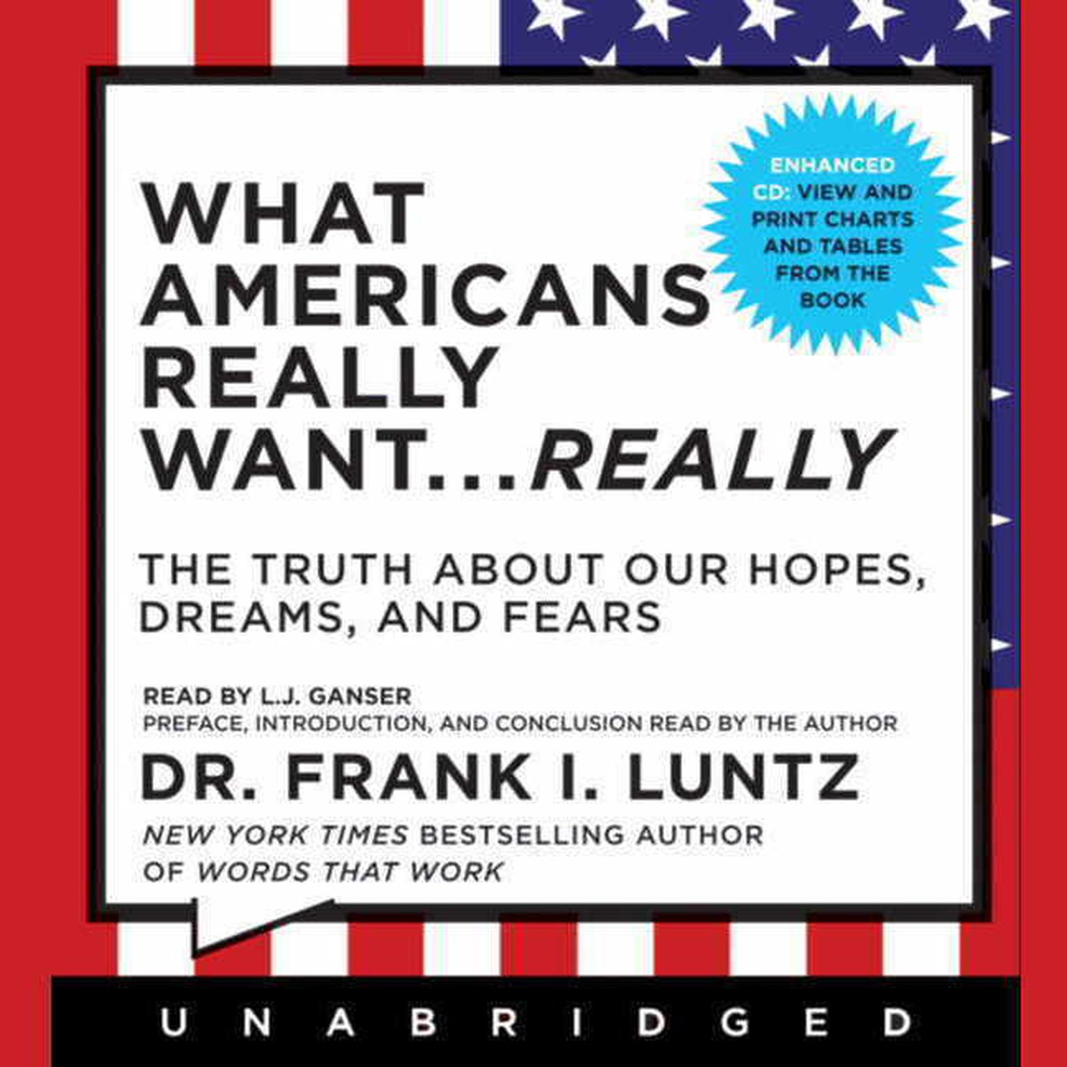 Printable What Americans Really Want...Really: The Truth About Our Hopes, Dreams, and Fears Audiobook Cover Art