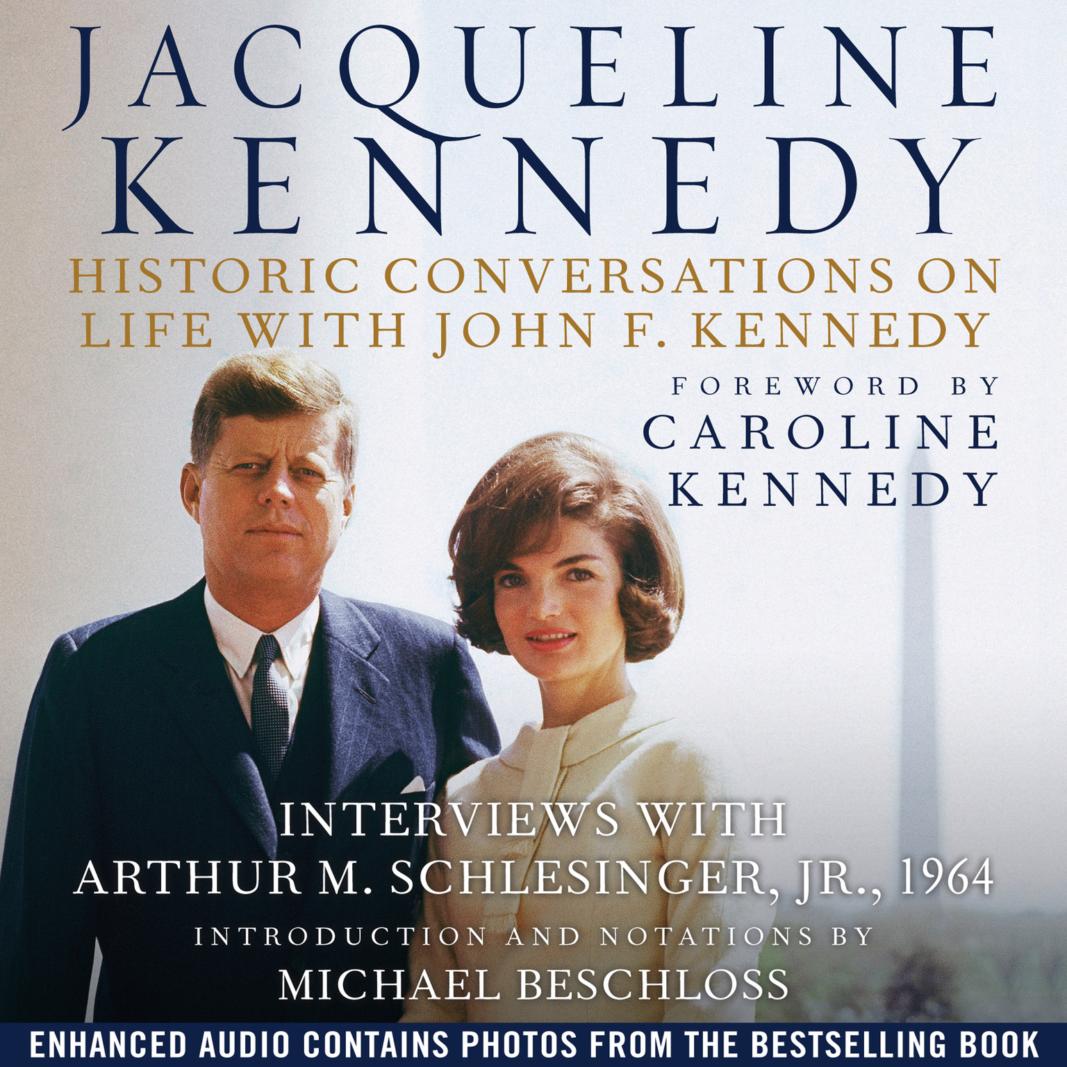 Printable Jacqueline Kennedy: Historic Conversations on Life with John F. Kennedy Audiobook Cover Art