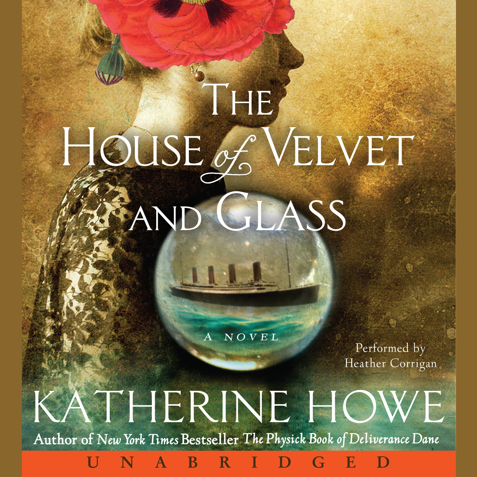 Printable The House of Velvet and Glass Audiobook Cover Art