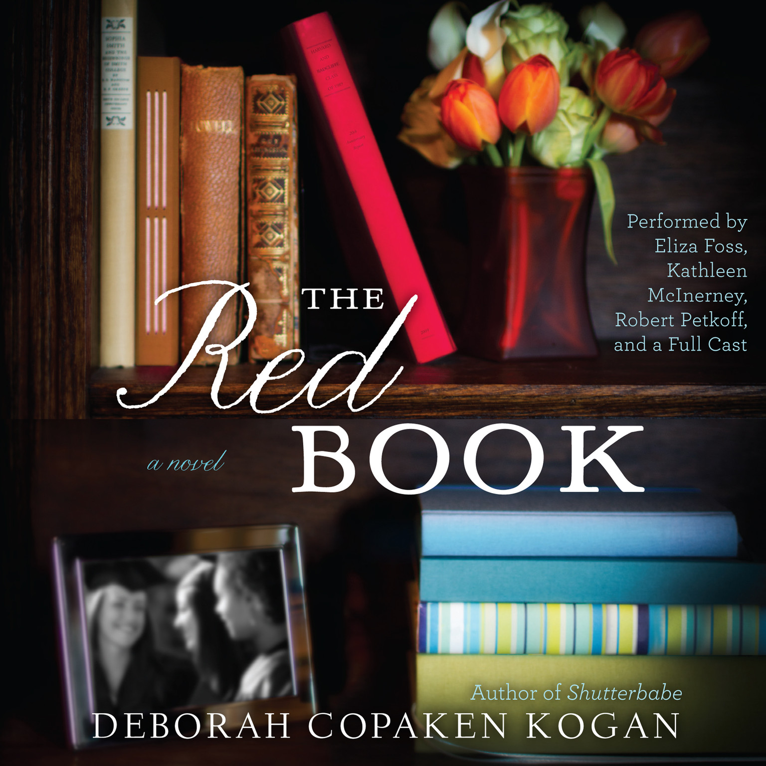 Printable The Red Book Audiobook Cover Art