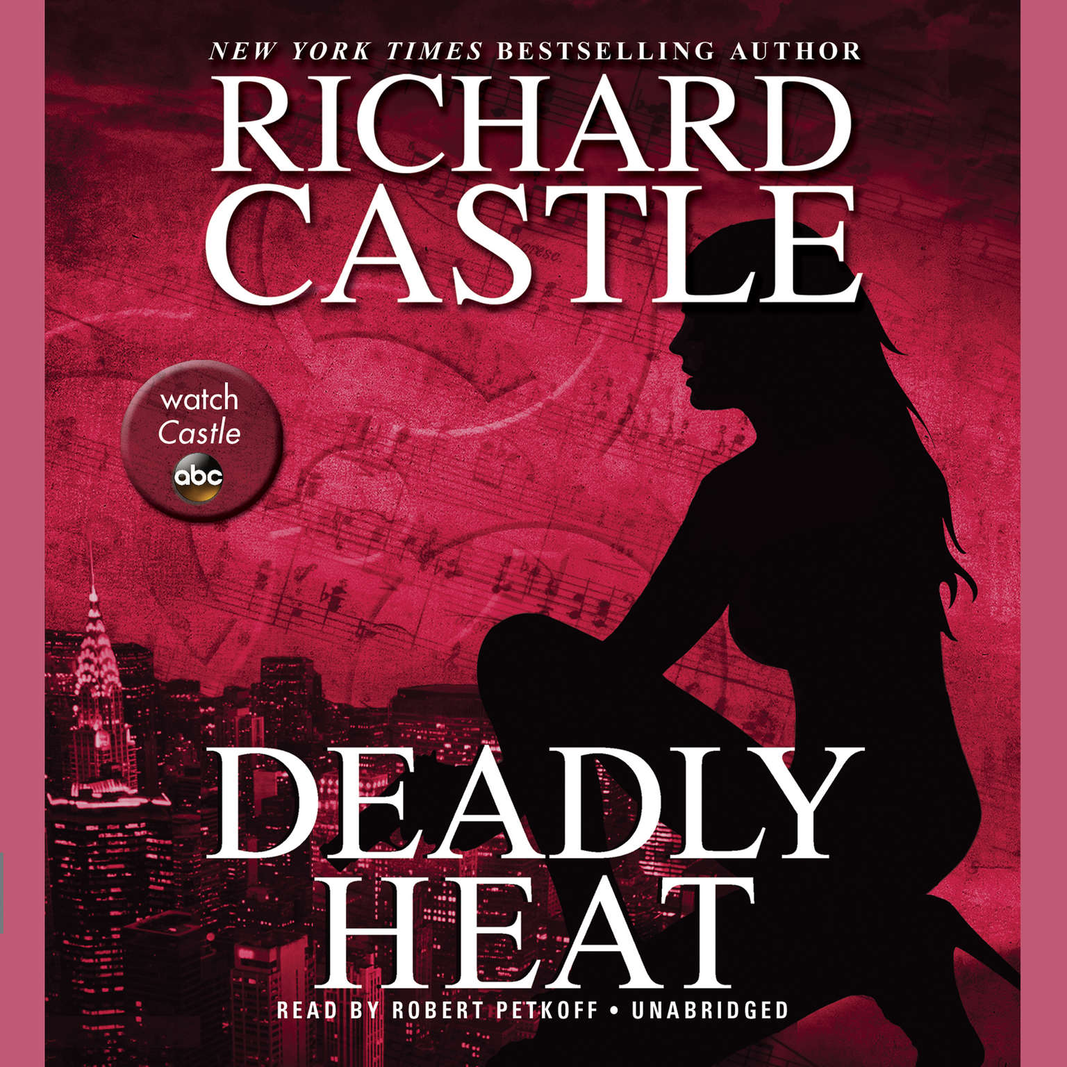 Printable Deadly Heat Audiobook Cover Art