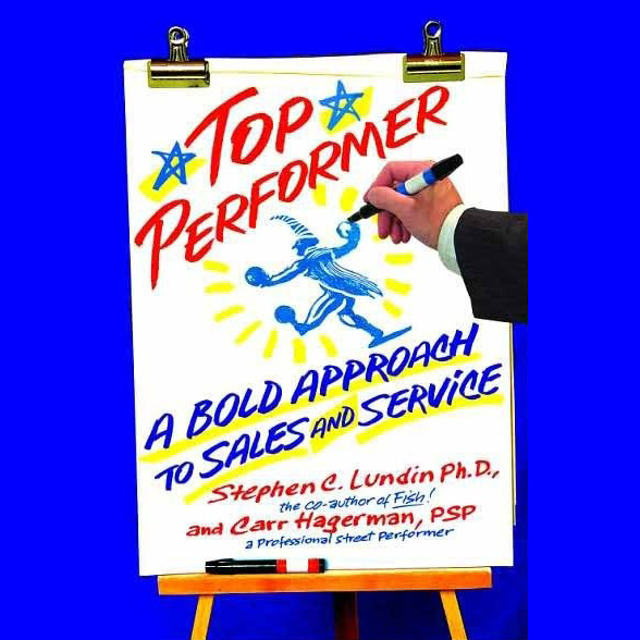 Printable Top Performer: A Bold Approach to Sales and Service Audiobook Cover Art