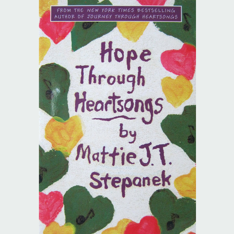 Printable Hope Through Heartsongs Audiobook Cover Art