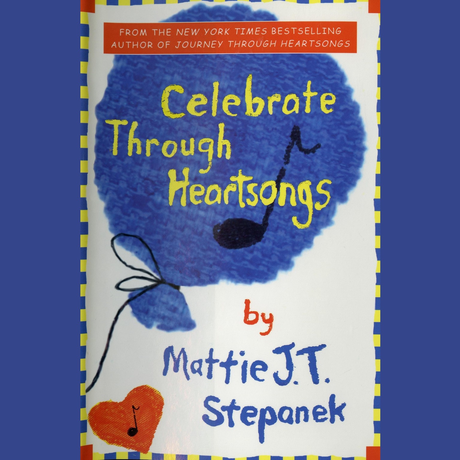 Printable Celebrate Through Heartsongs Audiobook Cover Art