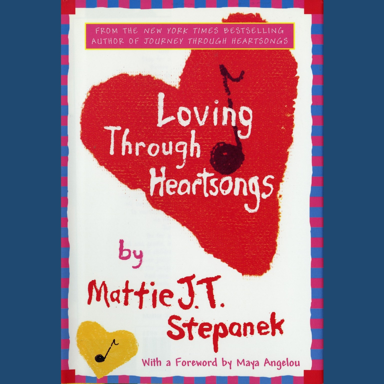 Printable Loving through Heartsongs Audiobook Cover Art