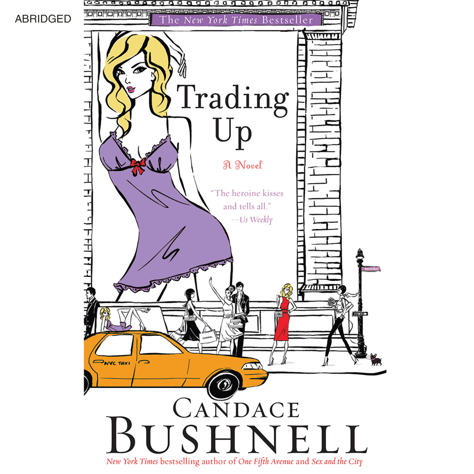 Printable Trading Up: A Novel Audiobook Cover Art