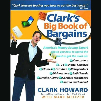 Clarks Big Book Of Bargains Audiobook, by Clark Howard