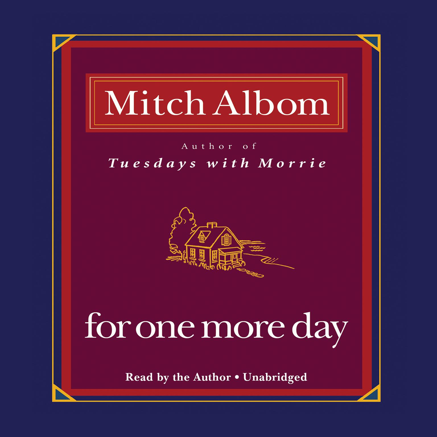 Printable For One More Day Audiobook Cover Art