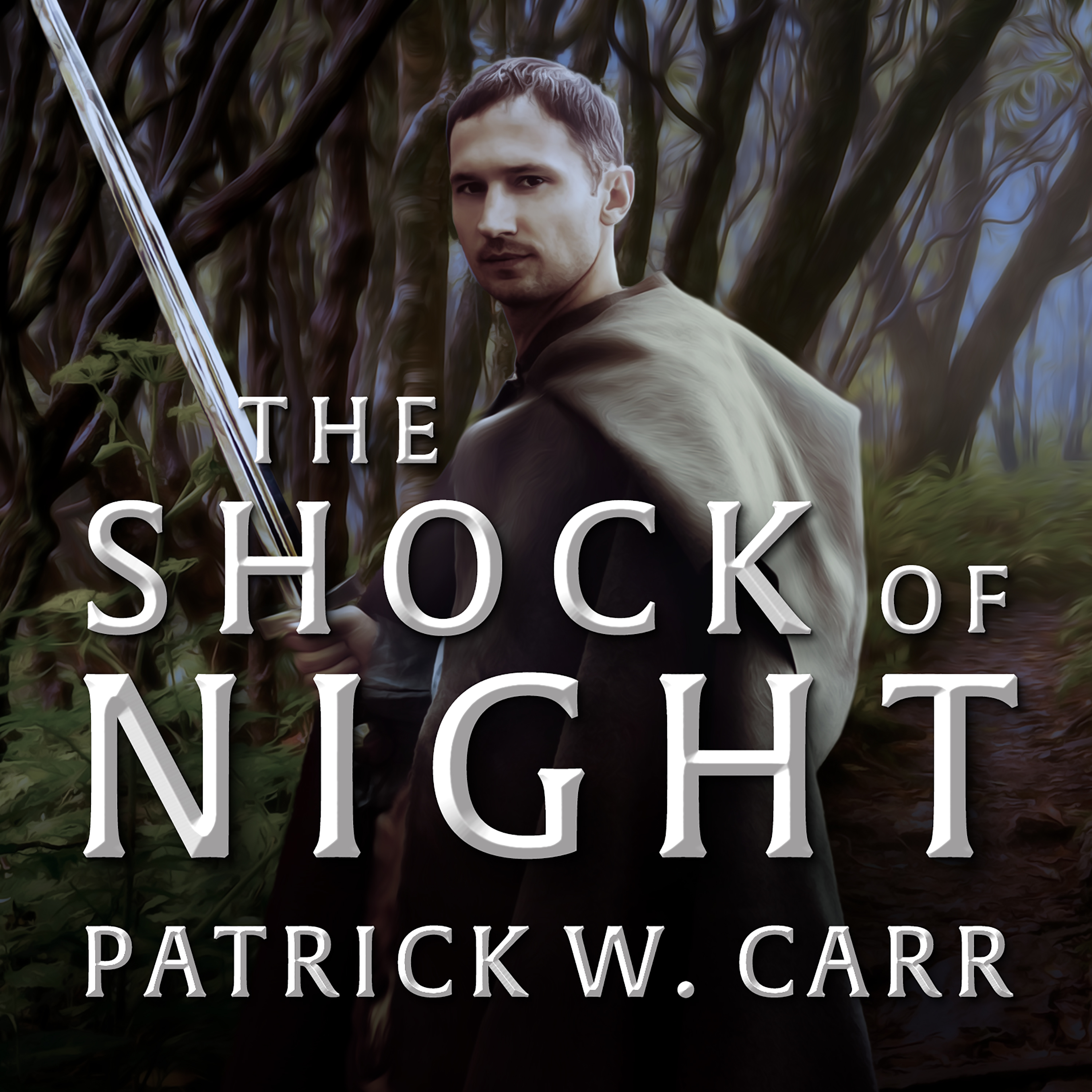 Printable The Shock of Night Audiobook Cover Art