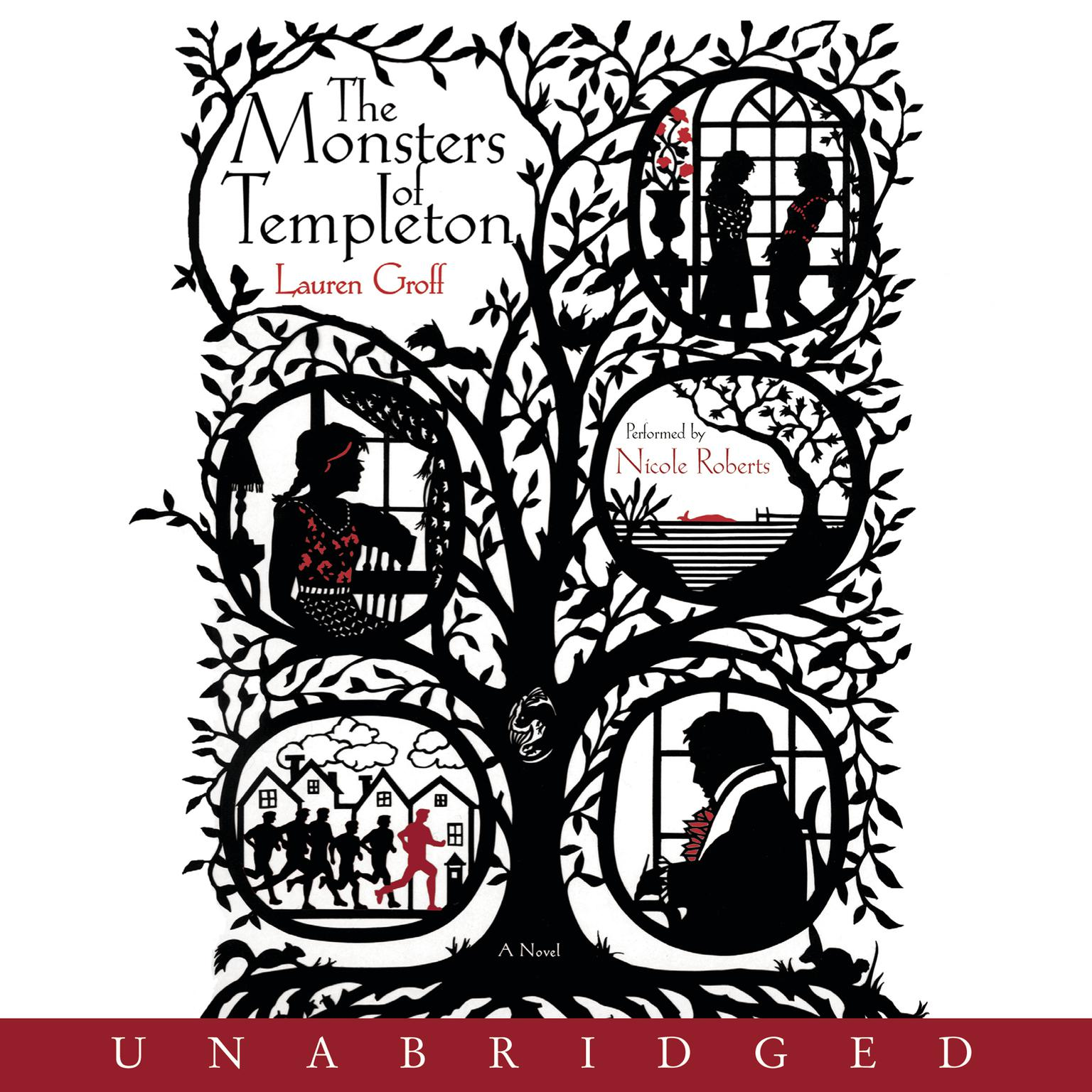 Printable The Monsters of Templeton Audiobook Cover Art